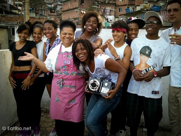 Resultado de imagen para TIA LEA Léa Silva, cocinera del morro de vidigal