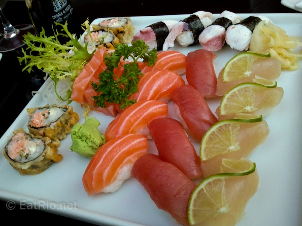 sushi selection platter