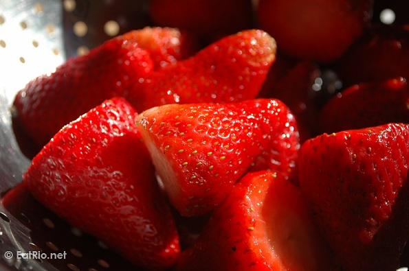 strawberries morangos