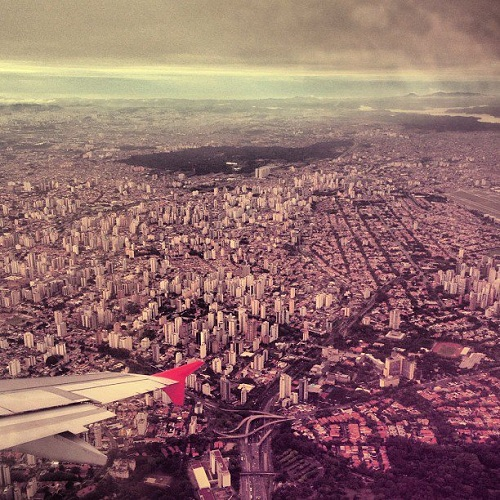 São Paulo from the air