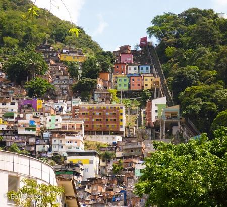 Santa Marta favela, Rio
