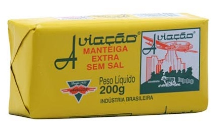 Aviação unsalted butter