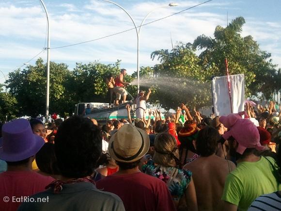 Água de carnaval