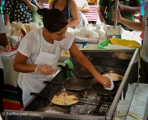 Preparing tapioca