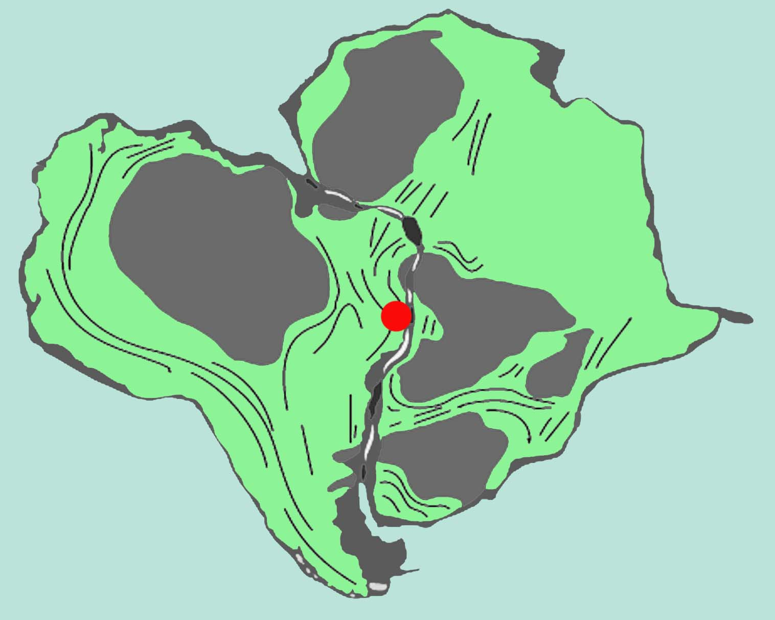 Pangea, the supercontinent