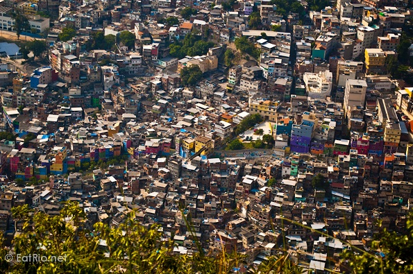 Rocinha from above