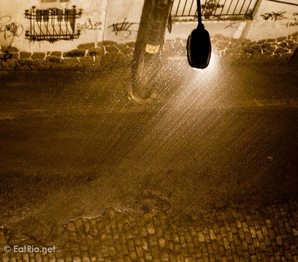 Rain in Rio