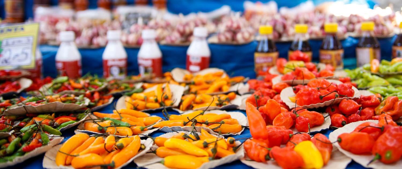 Rio de Janeiro food markets