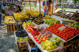 Rio FAQ fruit market